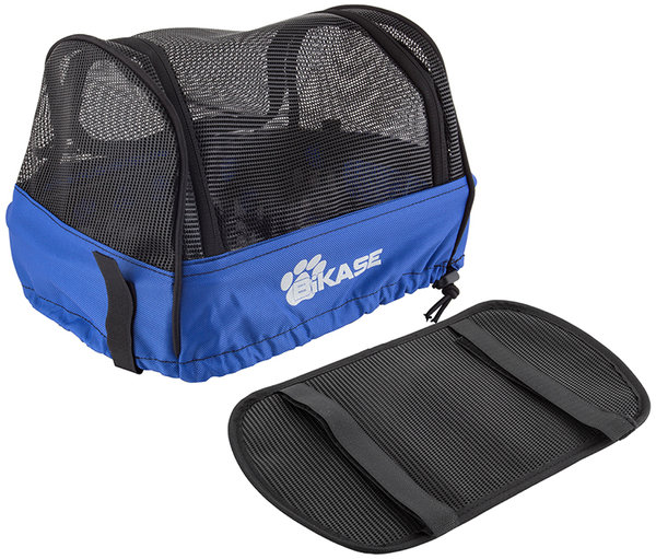 BiKASE Pet Cover for Bessie Front or Rear Basket Color: Black