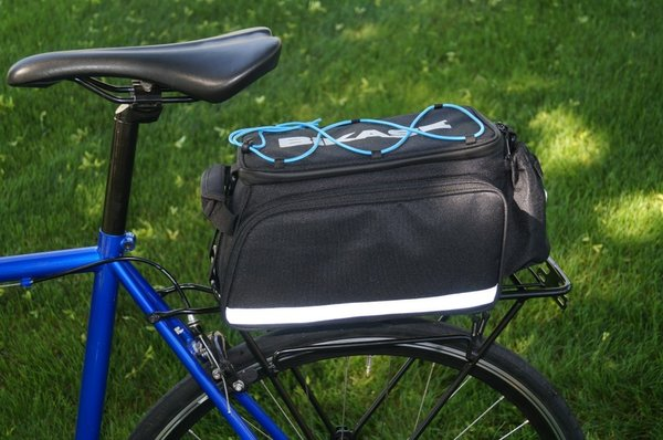 BiKASE Big Daddy Rack Bag 2 Color: Black