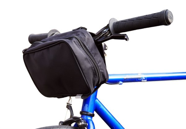 BiKASE Charger Handle Bar Bag Color: Black