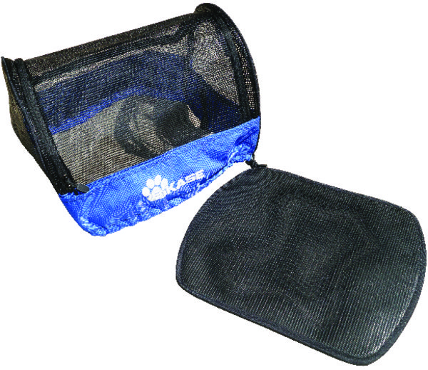 BiKASE Pet Cover for DairyMan Basket Color: Black