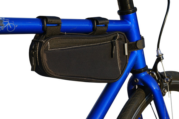 BiKASE Little John Frame Bag Color: Black