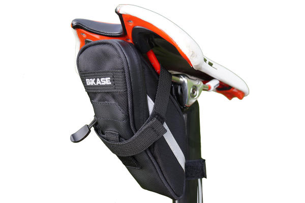 BiKASE Momentum Saddle Bag Color: Black