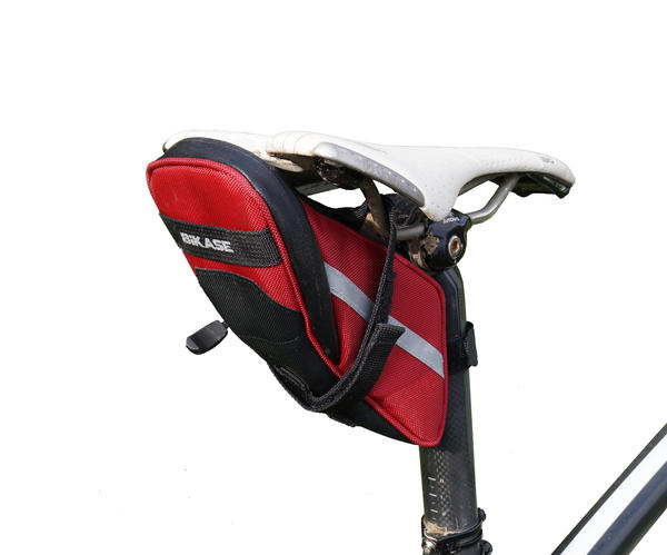 BiKASE Momentum Saddle Bag Color: Red