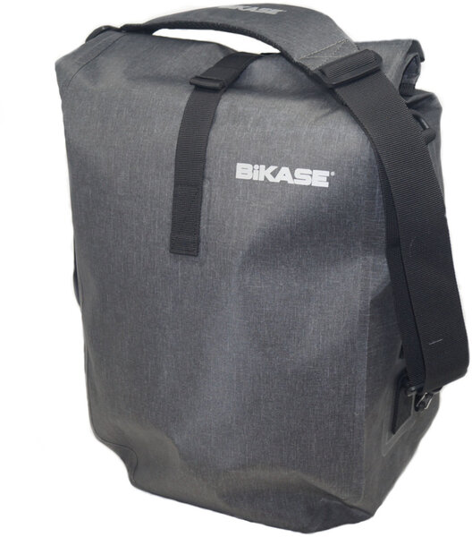 BiKASE Reggie 2 Drybag Pannier Color: Snow Grey