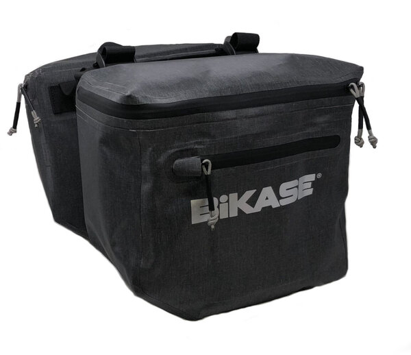 BiKASE Urbanator Adjustable Panniers Color: Black