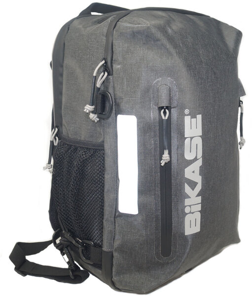BiKASE Urbanator Backpack Pannier Combo Color: Black