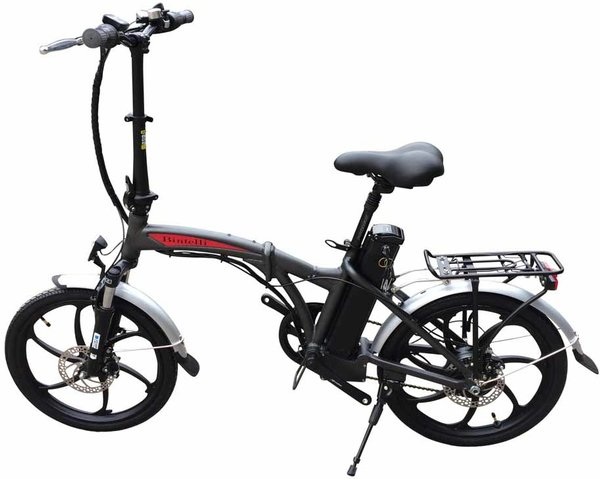 Bintelli Bicycles F1 Color: Charcoal