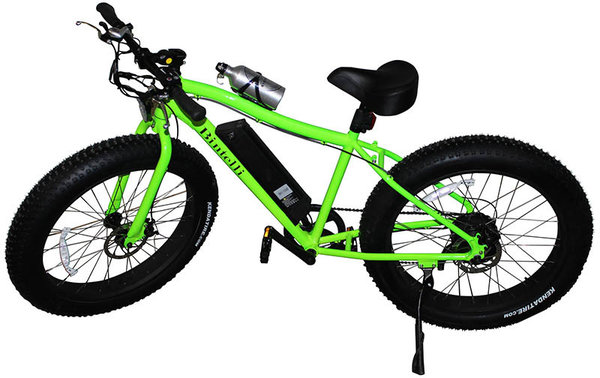 Bintelli Bicycles M2 Color: Bright Green