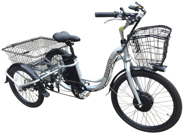 Bintelli Bicycles Trio Electric Trike
