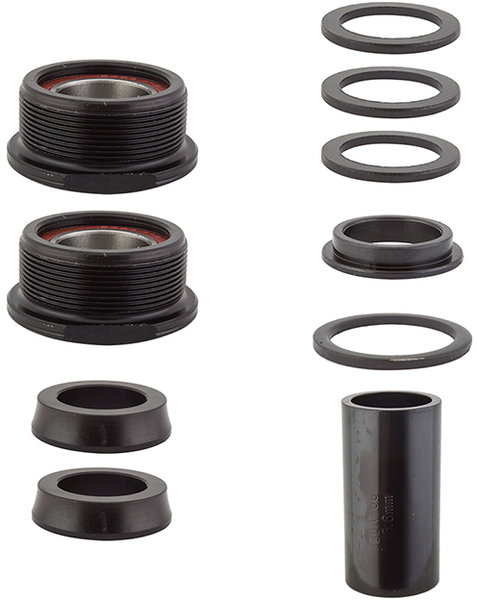 Black Ops 19mm Euro MX Bottom Bracket Color: Black