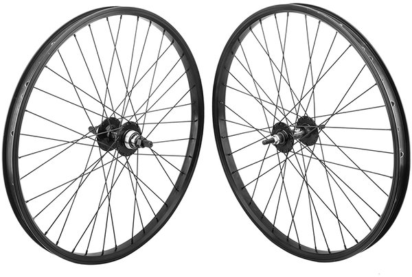 Black Ops 24-inch Alloy BMX Wheelset