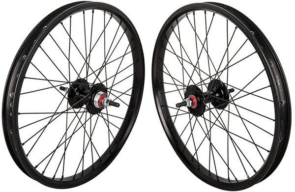 Black Ops Black Ops DW1.1 20-inch Wheelset Color: Black