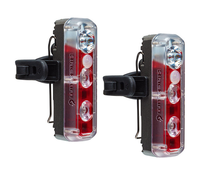 Blackburn 2'Fer XL Front or Rear 2-Pack Light Set Color: Black
