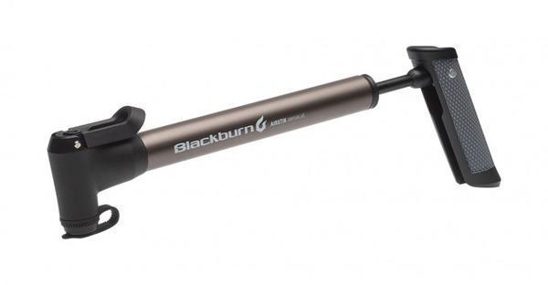 Blackburn Airstik Anyvalve Mini-Pump Color: Outpost Pewter