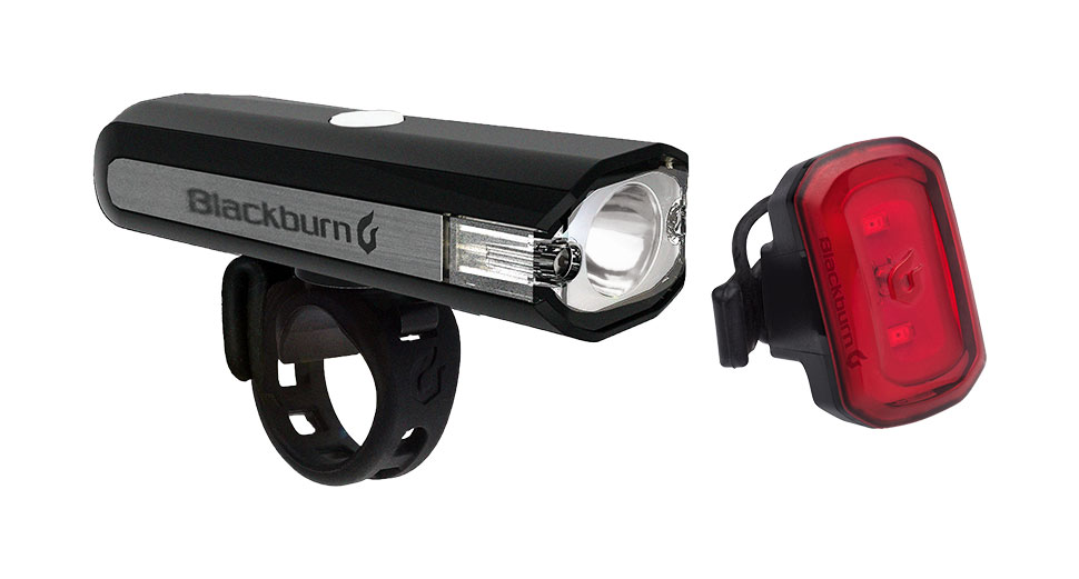 Blackburn Central 350 Micro Front + Click USB Rear Light Set Color: Black