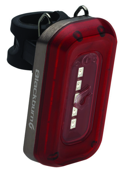 Blackburn Central 50 Rear Light Color: Black