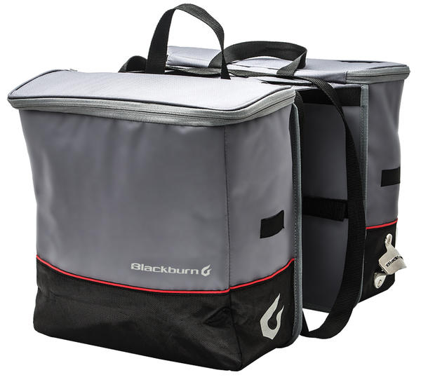 Blackburn Local Cooler Saddlebag Pannier Color: Gray/Black