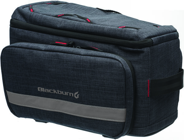Blackburn Central Trunk Bag Color: Charcoal