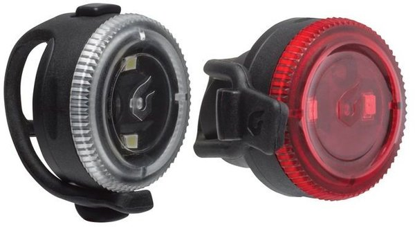Blackburn Click Front and Rear Light Set Color: Black