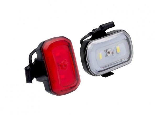 Blackburn Click USB Front + Rear Light Set Color: Black