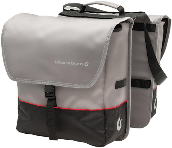 Blackburn Local Saddlebag Pannier Color: Black/Gray