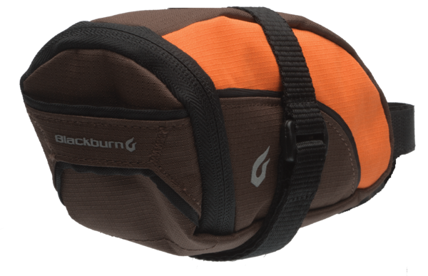 Blackburn Local Seat Bag Color | Size: Orange/Brown | Small
