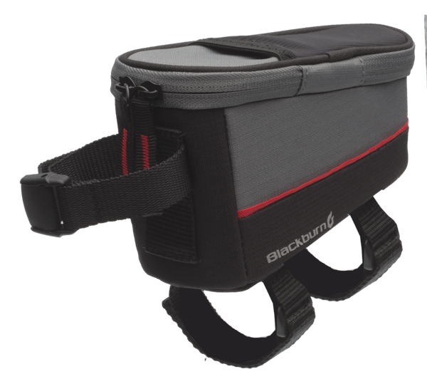 Blackburn Local Top Tube Bag Color: Black/Grey