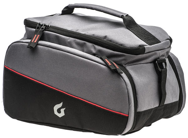 Blackburn Local Trunk Rack Bag Color: Grey/Black