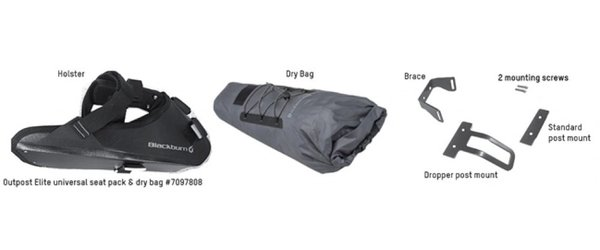 Blackburn Outpost Elite Universal Seat Pack