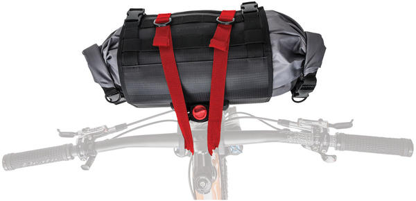 Blackburn Outpost Handlebar Roll w/ Dry Bag Color: Black