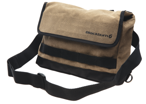 Blackburn Wayside Handlebar Bag Color: Black/Tan