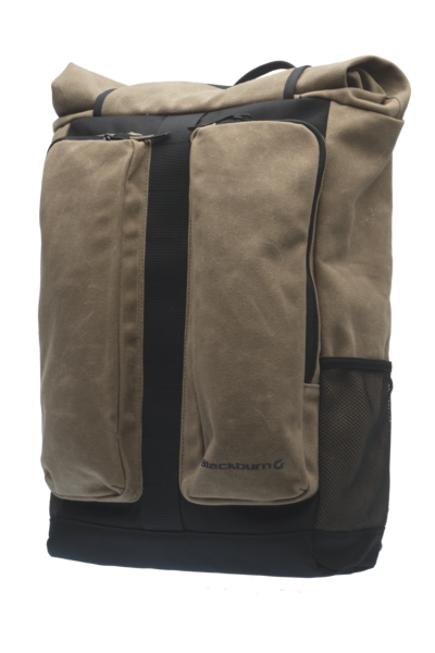 Blackburn Wayside Backpack and Pannier Color: Black/Tan