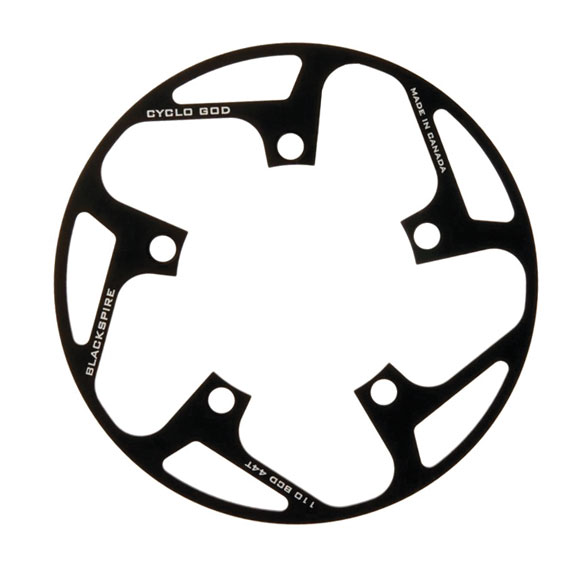 Blackspire Cyclogod Bash Guard Color | Size: Black | 5 x 110mm