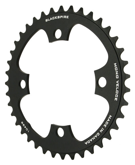 Blackspire Mono Veloce Chainring Color | Model | Size: Black | 4x104mm | 34t