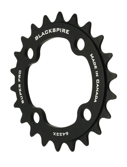 Blackspire Super Pro M960X Chainring Color | Model | Size: Black | 4x64mm | 22t