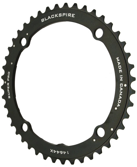 Blackspire Super Pro M960X Chainring Color | Model | Size: Black | 4x146mm | 44t