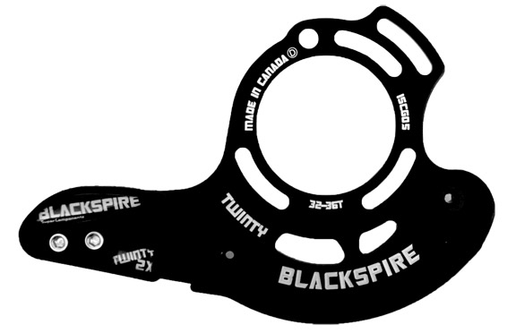 Blackspire Twinty 2x Chain Guide Color | Model | Size: Black | IS-05 | 32-36t