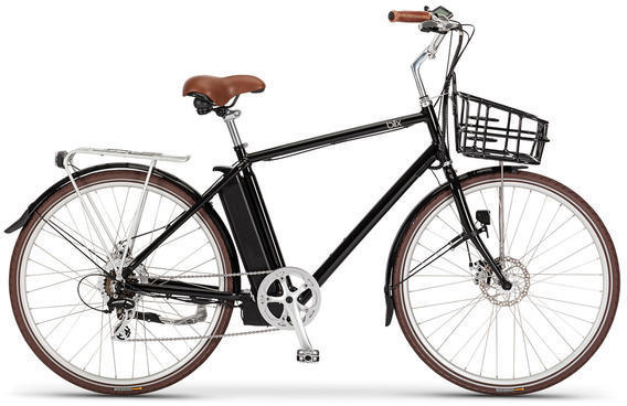 Blix Electric Bikes Aveny High-Step Color: Black