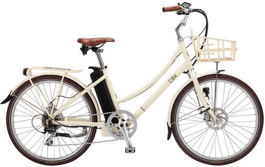 Blix Electric Bikes Aveny Step-Through Color: Cream