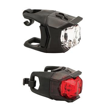 Blackburn Voyager Click Headlight + Mars Click Taillight Combo
