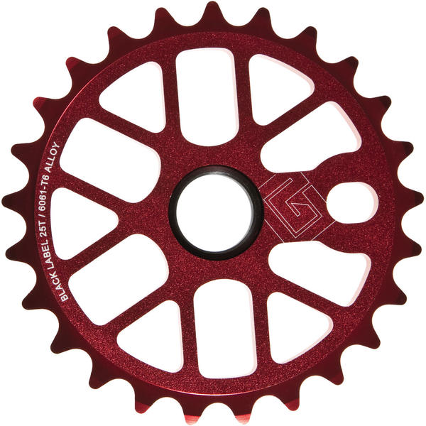 Black Label 6061 Sprocket Color: Red