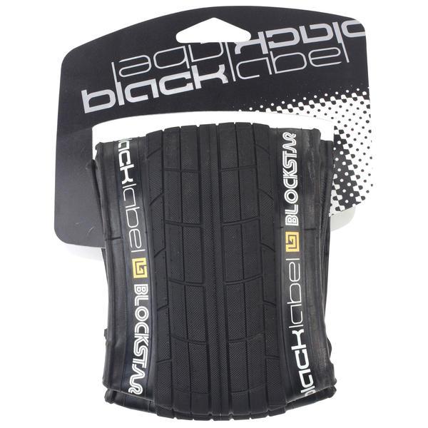 Black Label BlockStar BMX Tire (Folding)
