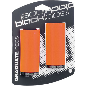 Black Label Plastic Pegs Color: Tide Orange