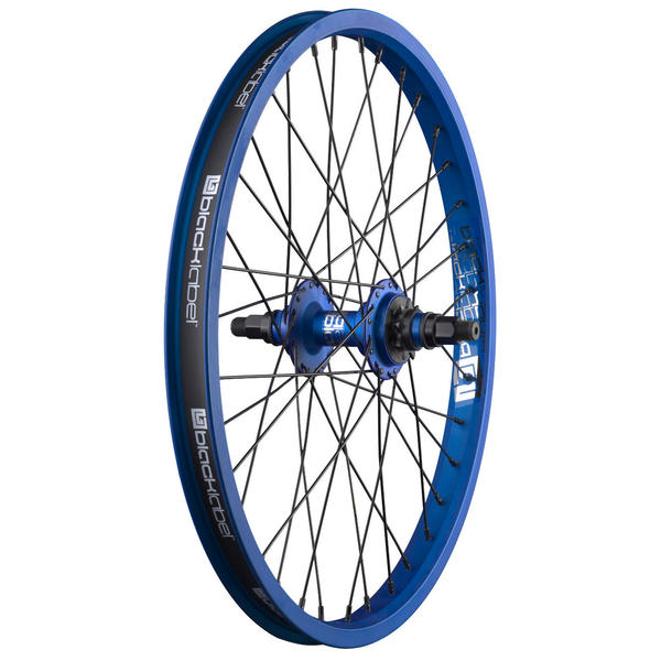 Black Label Rear Wheel w/Driver Color: Cheer Blue