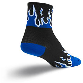 SockGuy Blue Flames Socks