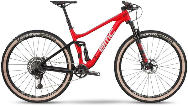 BMC Agonist 01 ONE Color: Red/Grey/Black