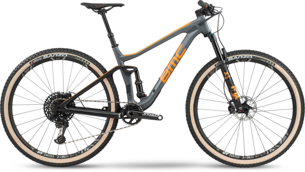 BMC Agonist 01 One Color: Race Grey/Orange