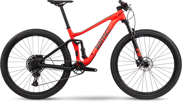 BMC Agonist 02 Two Color: Neon Red/Black