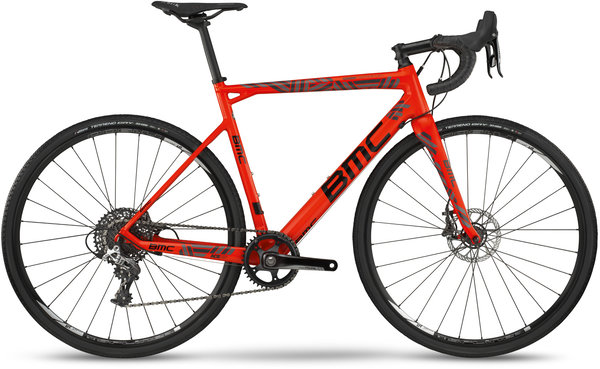 BMC Crossmachine 01 TWO Color: Neon Red