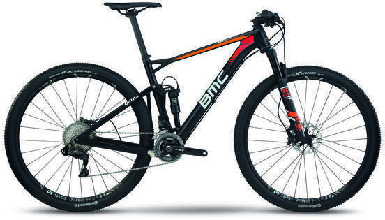 BMC fourstroke 01 XT Di2 Color: Fire